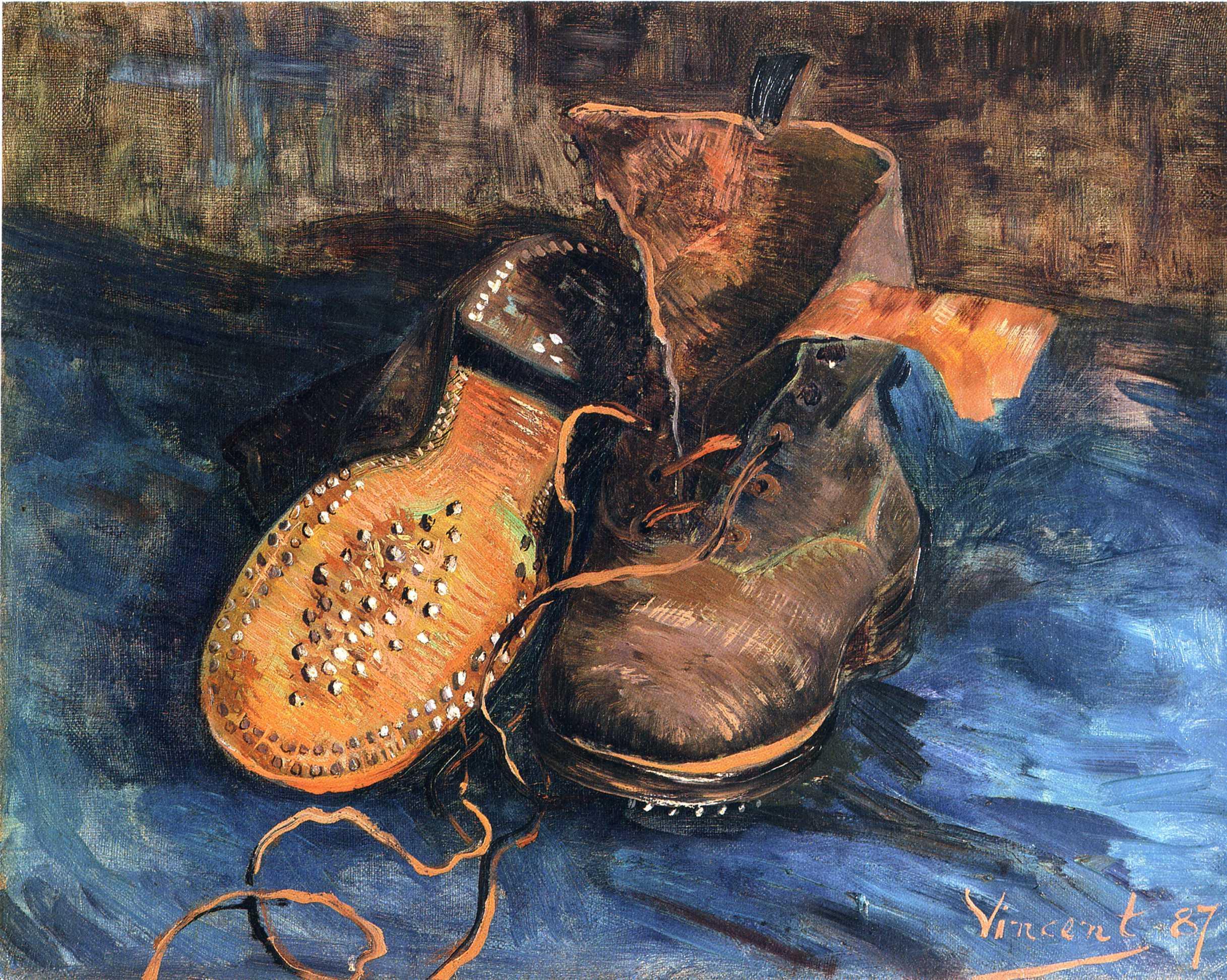 Van Gogh's Shoes and Japan | Doppiozero